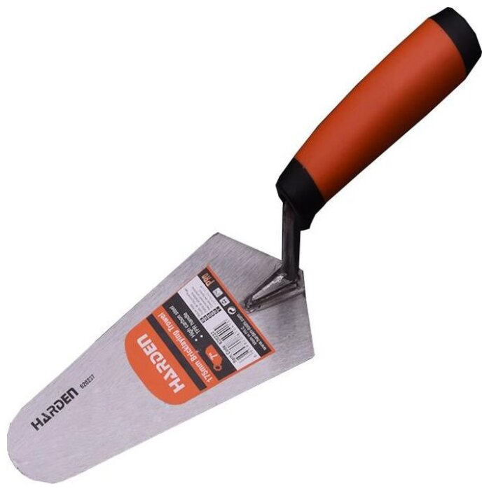 Кельма штукатура Harden 620237 полукруглая 175x84 мм