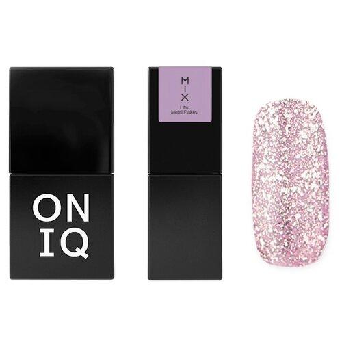 Гель-лак для ногтей ONIQ MIX, 10 мл, 107 Lilac Metal Flakes гель лак для ногтей oniq mix 6 мл 104s green and pink yuki flakes