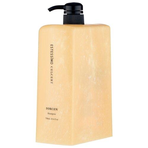 Estessimo Celcert шампунь Forcen укрепляющий, 750 мл укрепляющий шампунь для тонких волос estessimo celcert shampoo forcen шампунь 250мл