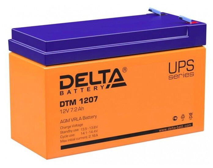 Аккумуляторная батарея DELTA Battery DTM 1207 7.2 А·ч