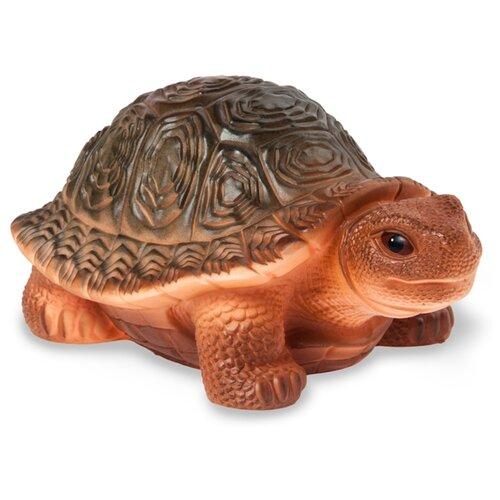 Купить Игрушка для ванной ОГОНЁК Черепаха Капа (С-769) коричневый, Игрушки для ванной
