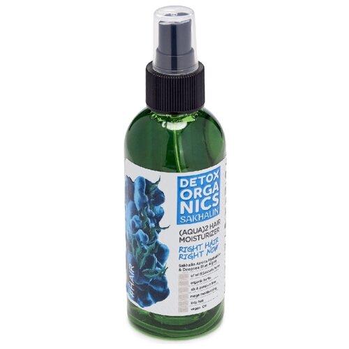 Фото - Natura Siberica Detox Organics Sakhalin Увлажняющий кондиционер-спрей для волос, 170 мл natura siberica черная мицеллярная вода для лица 170 мл