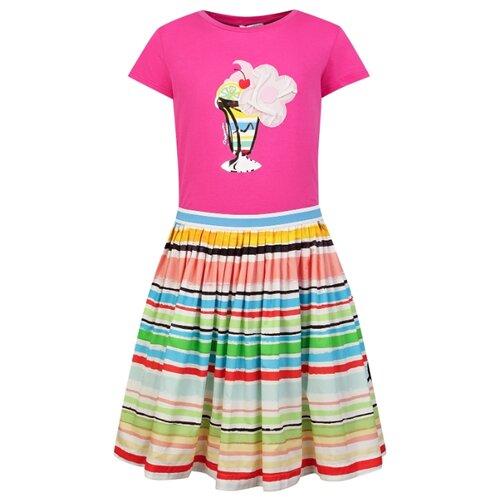 Купить Комплект одежды Simonetta размер 128, розовый/голубой, Комплекты и форма