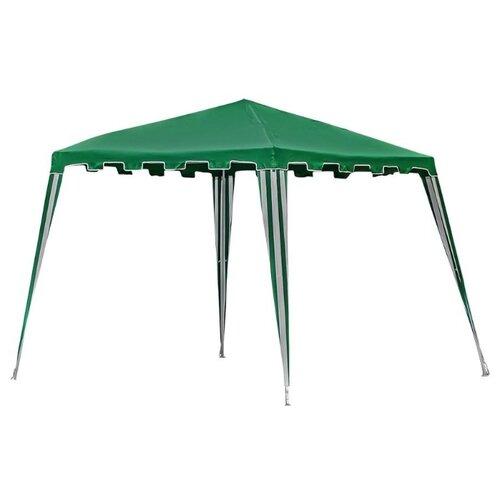 Шатер Green Glade 1018, 3 х 3 х 2.5 м зеленый / белый шатер green glade 1032 3 х 3 х 2 5 м синий белый
