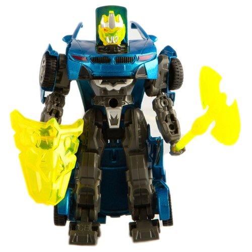 Купить Трансформер Play Smart Герой перевоплощения синий/серый, Роботы и трансформеры