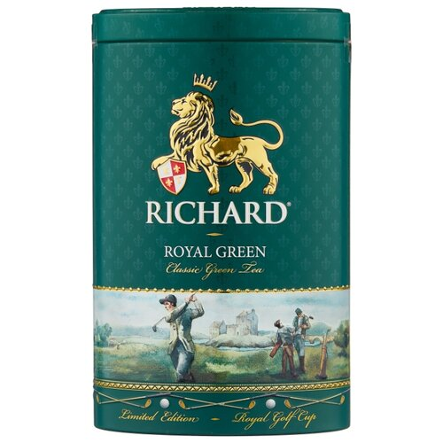 Чай зеленый Richard Royal green подарочный набор, 80 г чай листовой richard royal ceylon dogs
