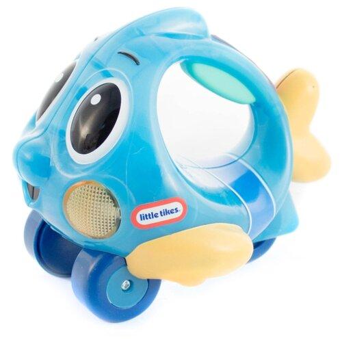 Каталка-игрушка Little Tikes Lil' Ocean Explorers Push 'n Glow Fish (639722) голубой цена 2017