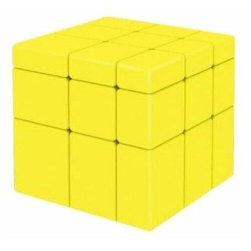 Купить Головоломка QiYi MoFangGe 3x3x3 Mirror Blocks (без наклеек) желтый, Головоломки