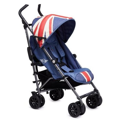 Прогулочная коляска Easywalker Buggy Mini Plus + бампер Union Jack vintage коляска 2 в 1 easywalker harvey shadow blue