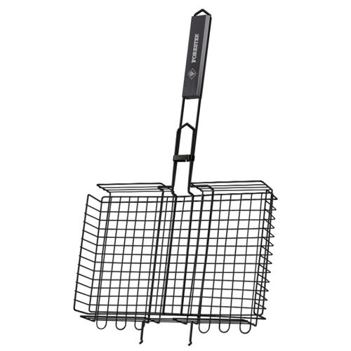 Решетка Forester BQ-NS03 для гриля объемная большая с антипригарным покрытием, 26х38 см