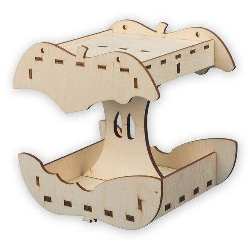 Купить Mr. Carving Заготовка для декорирования Кормушка Яблоко ВД-390 бежевый, Декоративные элементы и материалы