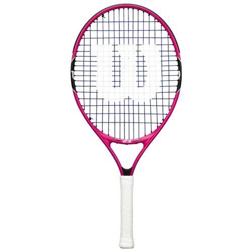Ракетка для большого теннисаWilson Burn Pink 23 23'' 0000 белый/розовый