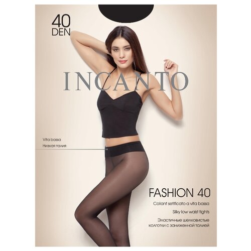 Колготки Incanto Fashion 40 den nero 4 (Incanto)Колготки и чулки<br>