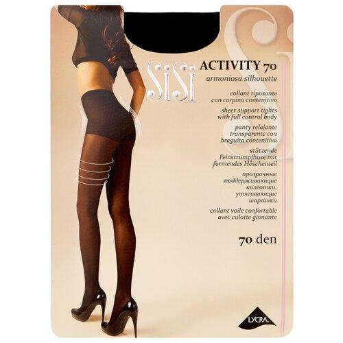 Колготки Sisi Activity 70 den, размер 4-L, nero (черный) колготки sisi activity 70 den