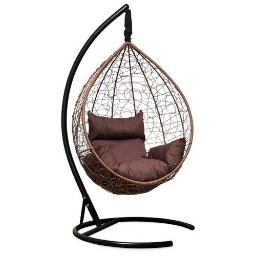 Подвесное кресло-кокон Laura Outdoor Sevilla, горячий шоколад/шоколадный