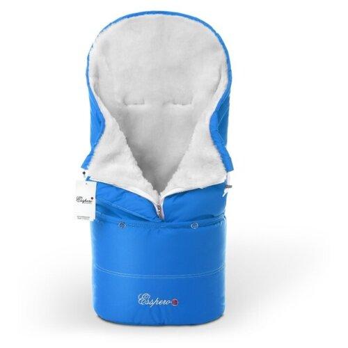 Купить Конверт в коляску Esspero Transformer White (натуральная 100% шерсть) (Blue Mountain), Конверты и спальные мешки