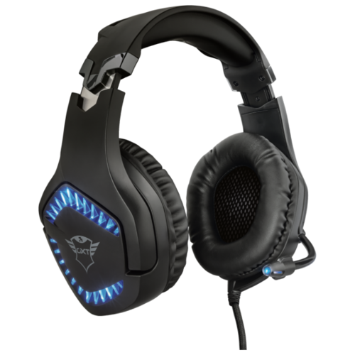 Компьютерная гарнитура Trust GXT 460 Varzz Illuminated Gaming Headset черный компьютерная акустика trust