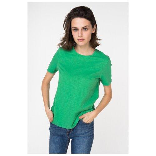 Футболка Vero Moda 10210348 размер XS, зелeный футболка vero moda 10195723 размер xs серый
