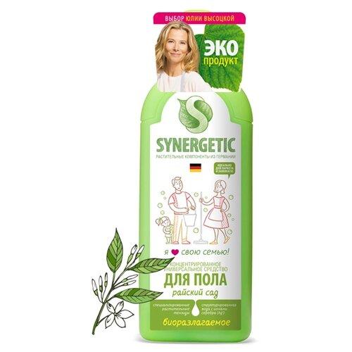 Synergetic Универсальное средство для мытья поверхностей Райский сад 0.75 л недорого