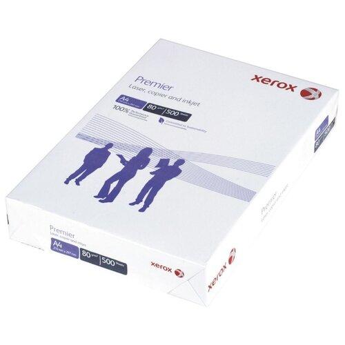 Фото - Бумага Xerox A4 Premier 003R91720 80 г/м2 500 лист белый 1 шт. бумага iq color а4 color 120 г м2 250 лист кораллово красный co44 1 шт