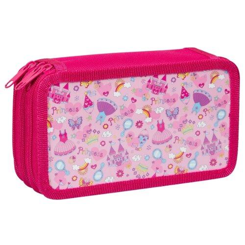 Купить ArtSpace Пенал Princess (30П25-3_ПК12_25509) розовый, Пеналы
