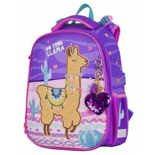 Купить Berlingo ранец Expert Lama, фиолетовый/розовый, Рюкзаки, ранцы