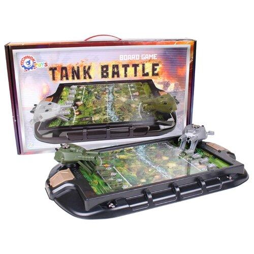 Настольная игра ТехноК Танковый бой настольные игры тридевятое царство игра настольная танковый бой