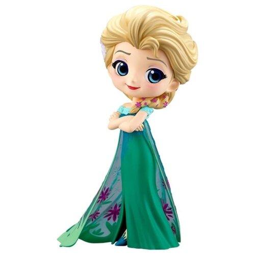 Купить Фигурка Q Posket Disney Character: Frozen – Elsa Frozen Fever Design Version A (14 см), Banpresto, Игровые наборы и фигурки