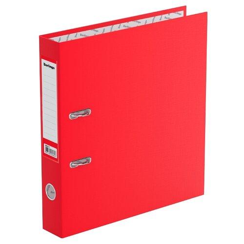 Berlingo Папка-регистратор с карманом на корешке Standard А4, бумвинил, 50 мм красный berlingo папка регистратор с карманом на корешке standard а4 бумвинил 70 мм красный