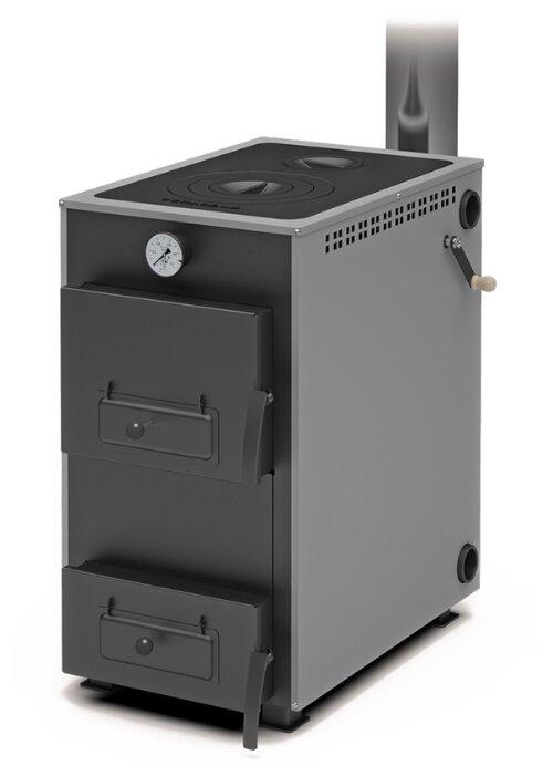 Твердотопливный котел Теплодар Куппер Практик-16 В, 16 кВт, одноконтурный фото 1