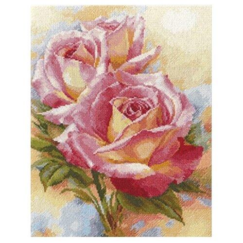 Купить Алиса Набор для вышивания крестиком Розовые мечты 28 х 36 см (2-31), Наборы для вышивания