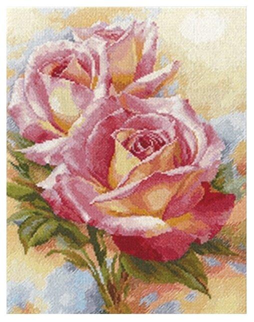 Алиса Набор для вышивания крестиком Розовые мечты 28 х 36 см (2-31)