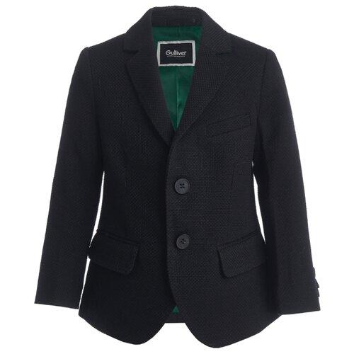 Пиджак Gulliver размер 128, черный пиджак gulliver размер 128 синий