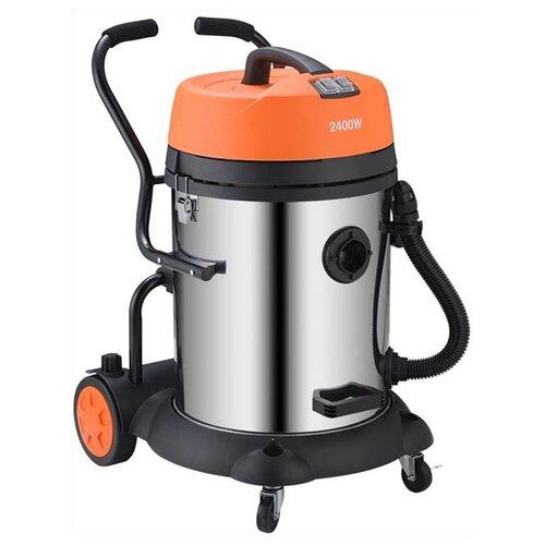 Профессиональный пылесос RedVerg RD-VC7260 2400 Вт оранжевый/серебристый