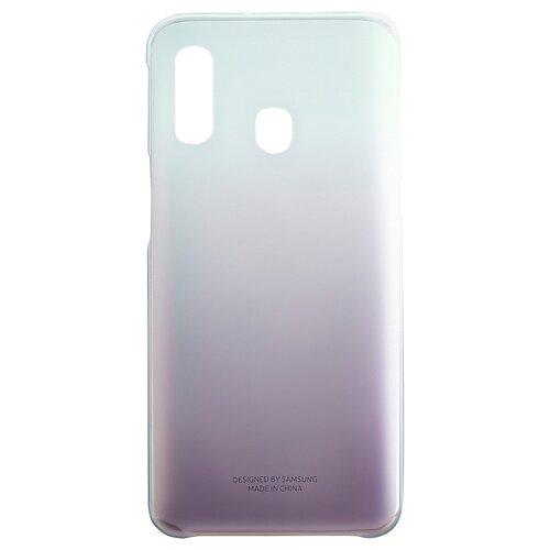 Чехол-накладка Samsung EF-AA405 для Galaxy A40 черный чехол книжка samsung galaxy a40 ef wa405p black