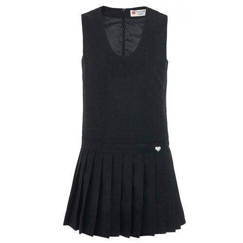 Купить Сарафан Button Blue School размер 164, черный, Платья и сарафаны
