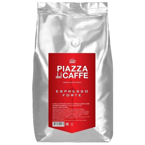 Кофе в зернах Piazza del Caffe Espresso Forte промышленная упаковка, робуста, 1000 г кофе в зернах piazza del caffe