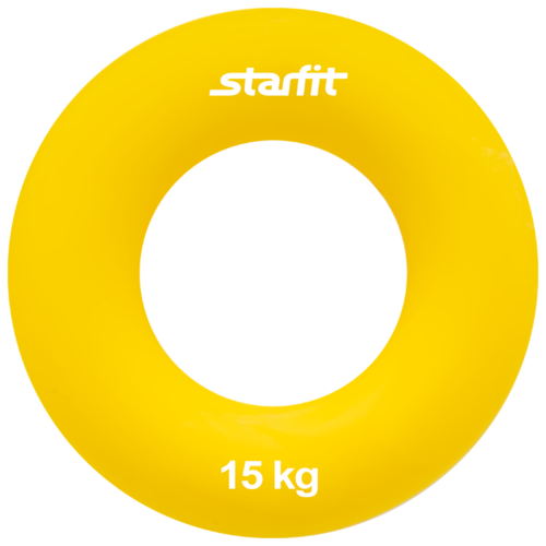 Фото - Эспандер кистевой Starfit ES-403 15 кг 7 х 7 см желтый эспандер starfit es 403 20kg d 7cm orange ут 00015543