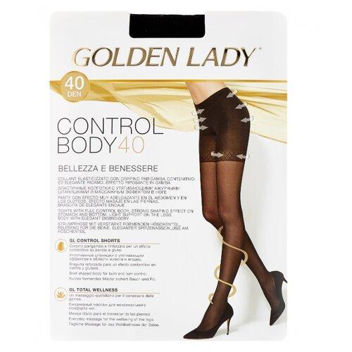 Колготки Golden Lady Control Body 40 den, размер 4-L, nero (черный) колготки golden lady dynamic 40 den размер 4 l nero черный
