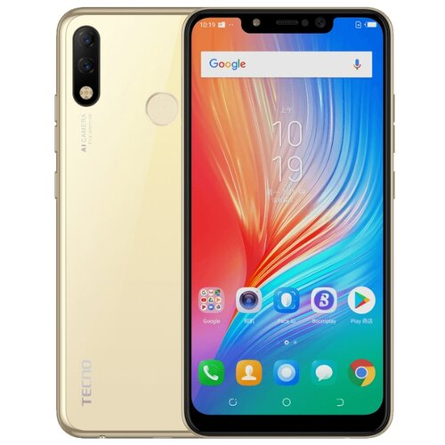 Смартфон TECNO Spark 3 Pro золотой (TCN-KB8-CHGL)