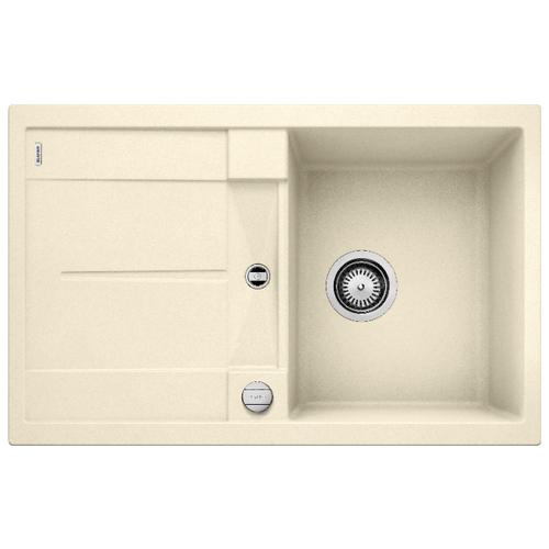 Врезная кухонная мойка 78 см Blanco Metra 45S жасмин врезная кухонная мойка 78 см blanco metra 45s 525311 бетон