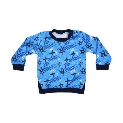 Свитшот Babyglory размер 92, синий джемпер для новорожденных babyglory superstar цвет синий ss001 09 размер 92