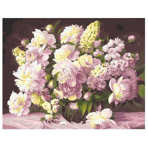 Купить ВанГогВоМне Картина по номерам Букет из нежности , 40х50 см (ZX 10142), Картины по номерам и контурам