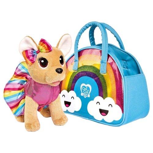 Фото - Мягкая игрушка Simba Chi-chi love Собачка Rainbow 20 см игровой набор chi chi love simba коллекционная собачка чи чи 5893111chi