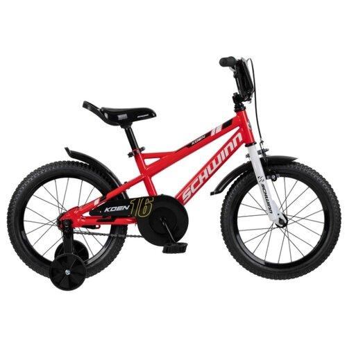 Детский велосипед Schwinn Koen 16 красный (требует финальной сборки)