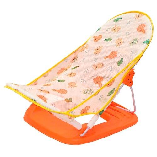 Купить Горка для купания Baby Bather Delux оранжевый, Funkids, Сиденья, подставки, горки
