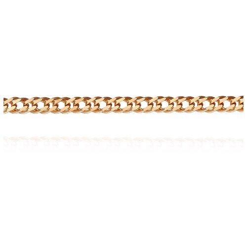 АДАМАС Цепь из золота плетения Ромб двойной ЦР240А2-А51, 45 см, 4.32 г