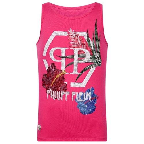 Майка PHILIPP PLEIN размер 164, розовый philipp plein женские приталенные пиджаки