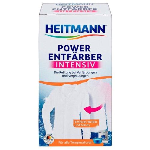 Heitmann Отбеливатель для случайно окрашенных белых тканей, 250 г бытовая химия luxus отбеливатель до 60 градусов 250 г
