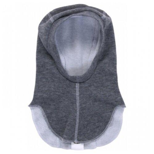 Купить Шапка-шлем Наша мама размер 46-48(86), серый, Головные уборы